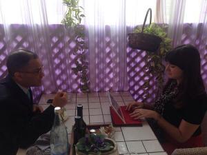 Lahav interviews Italian MEP Magdi Cristiano Allam (via @BonomoMI Twitter)